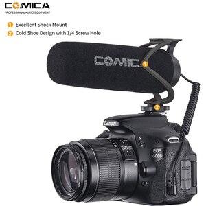 Image 4 - Микрофон для камеры Comica CVM V30 Lite, микрофон для записи видео на телефоне для камеры Canon Nikon Sony Fuji DSLR s, микрофон для смартфона