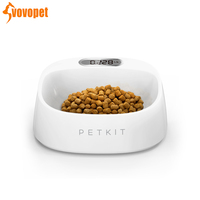 VOVOPET Pet smart bowl Safe Anti microbial protection cervical stand Smart Weighing feeder drinking dogs cats bowl