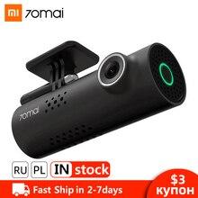 купить Xiaomi 70mai Dash Cam Car DVR Wifi Voice Control Dashcam Full HD 1080P Night Vision Car Camera Auto Video Recorder G-sensor по цене 2309.2 рублей