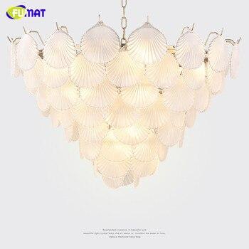 Фумат современный скандинавский стиль креативный стеклянный корпус K9 кристальная нержавеющая сталь LED подвесное освещение Роскошная ламп...