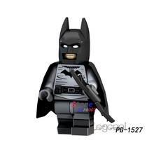 1PCS model building blocks action superheroes Batman learning Doll party series diy toys for children gift(China)