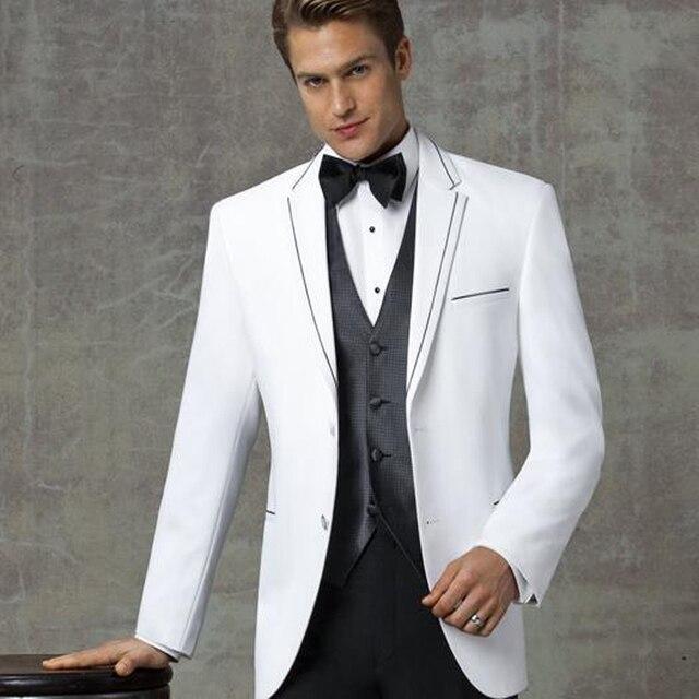 Aliexpress.com : Buy Custom Of Best Man Wedding Dress White Collar