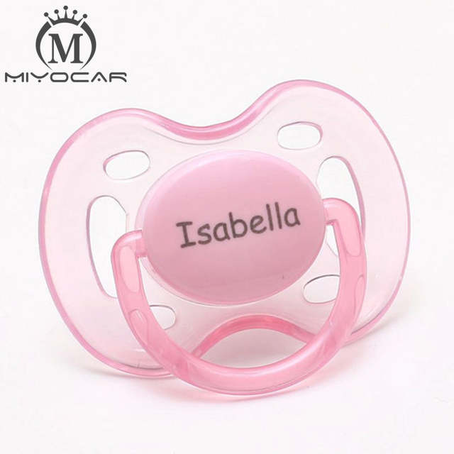 1334951816814 Online Shop MIYOCAR personalized Engraved any name pink princess pacifiers  monogram pacifiers baby pacifier dummy baby boy gift