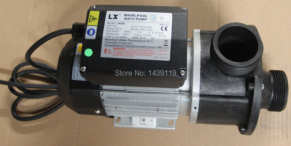 Aliexpress.com : Buy 0.5HP LX Bathtub Pump JA 50 And JA50 SPA Pool  Circulation Pump Spa Tub LX Hot Tub Part For Chinese Bathtub From Reliable Bathtub  Pump ...