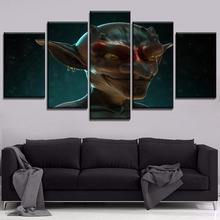 High Quality Canvas Painting Home Decor Wall Art 5 Panel Goblin Poster Modern HD Print Type Anime Slayer Modular Picture