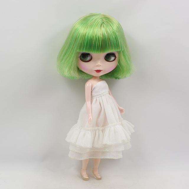 ICY Neo Blythe Doll Green Hair Regular Body 30cm