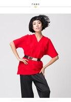 Issey MIYAKE морщин темперамент талии большой Размеры Для женщин с короткими рукавами шифоновая рубашка V футболка складки футболка бесплатная д