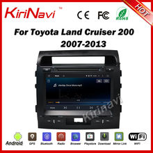 Kirinavi Android 7.1 1024*600 HD doble DIN Car DVD player para Toyota Land Cruiser 200 2007-2013 sistema de navegación del GPS del coche