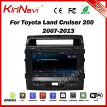 Kirinavi android 7 1 1024 600 HD double din car dvd player for toyota land cruiser