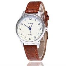 лучшая цена Fashion Original Hight Quality Quartz Watch Fashionable Unique Leather Watchband Watch Women Casual Dress Watch Relogio Feminino