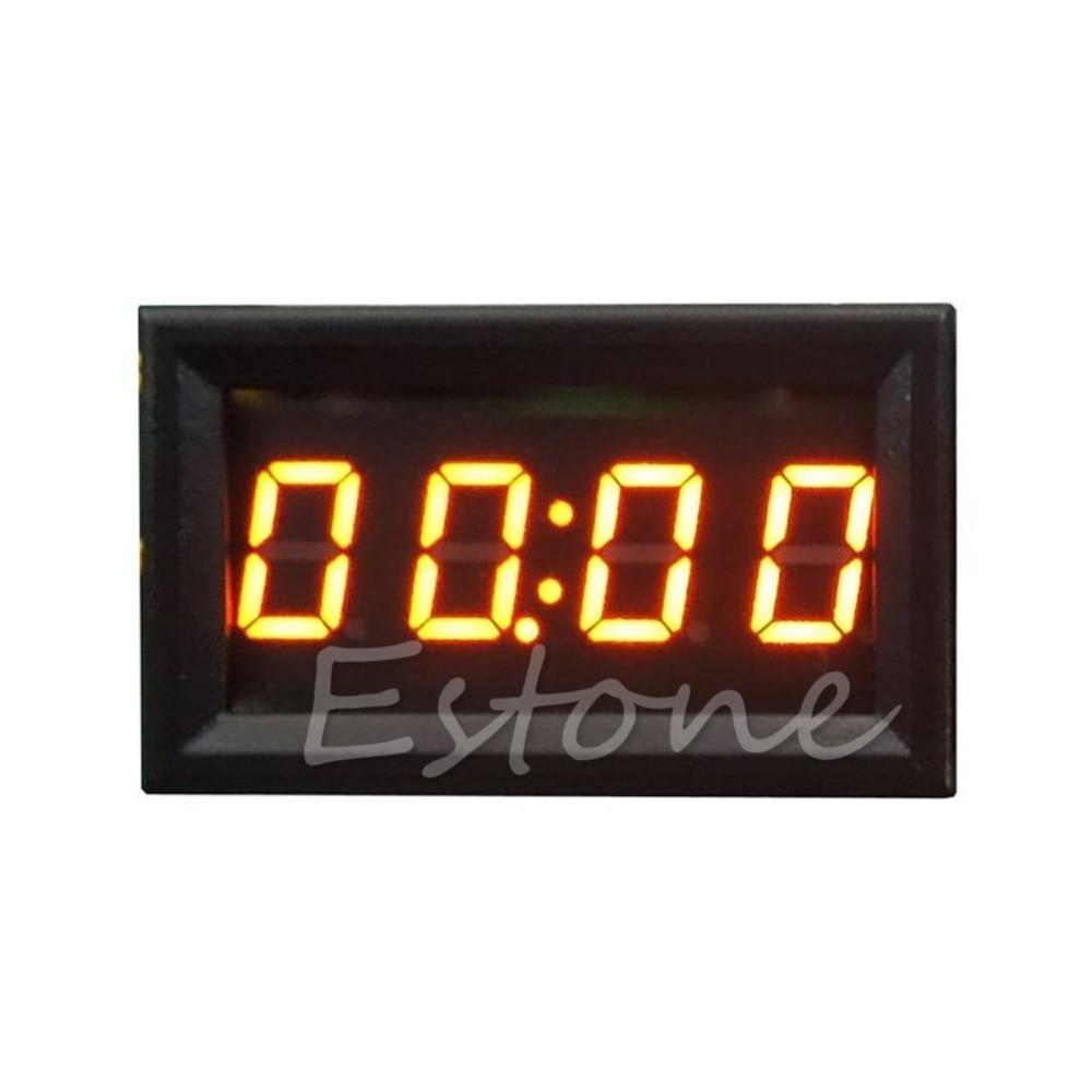 Ζεστό πώληση LED οθόνη ψηφιακό ρολόι 12V - Ανταλλακτικά αυτοκινήτων - Φωτογραφία 4