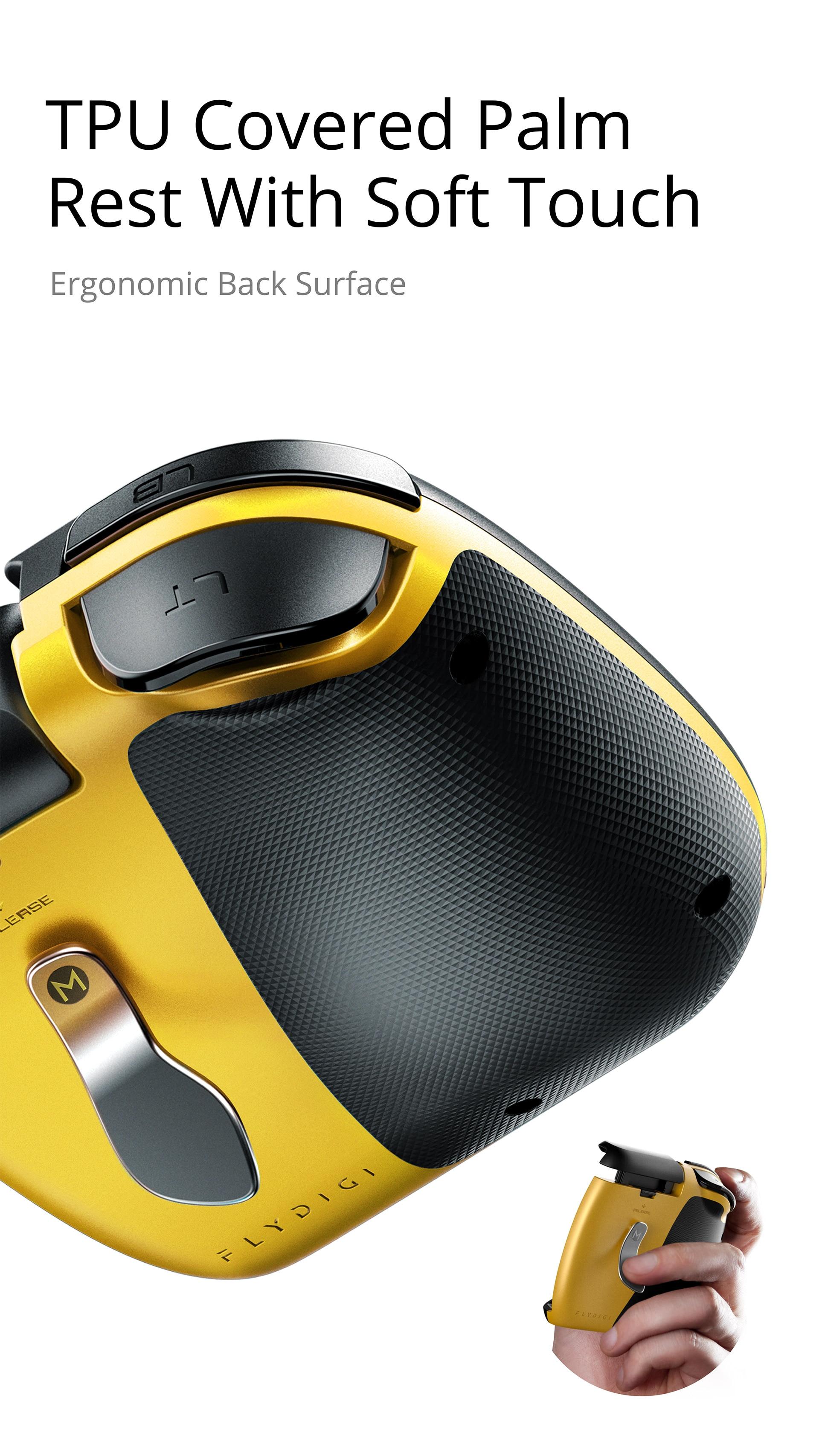 Flydigi Wasp 2 Elite One-Handed Mobile Gaming Controller 8