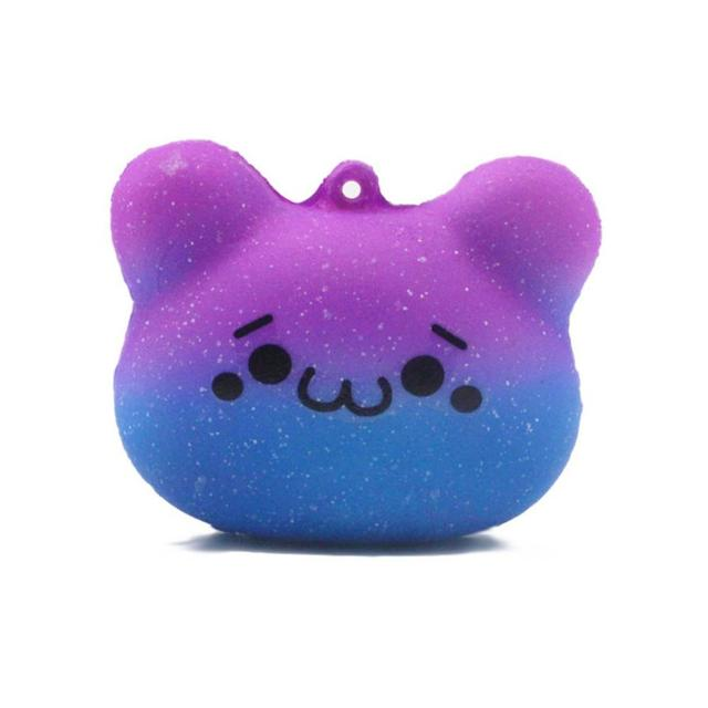 Cute Bear Emoji Slow Rising Squeeze Toy