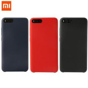 """Image 1 - Original Xiaomi mi note 3 case silicone hard back cover xiaomi note 3 case mi note3 cover simple solid capa coque funda 5.5"""""""