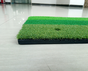 Image 3 - Golf Hitting Mat Indoor Outdoor Practice Golf Mat  60x30cm 3 Color Short Grass Golf Training Aids Golf Hitting Pads