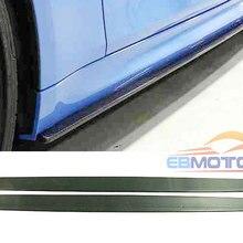 МП Стиль Реальные углеродного волокна сторона юбки тела Наборы фартук 1 пара для BMW F80 M3 4-дверный F82 M4 2-дверный 2014UP B367