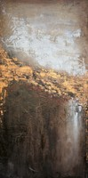 Running River Water With Evident Strokes Shows the Depth and the Metallic Very well Which Is Eye Catching and of Good Texture
