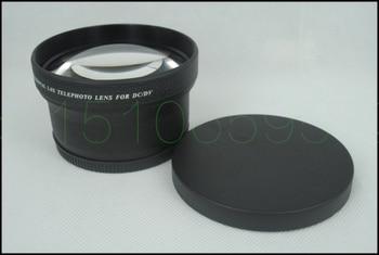 72mm 2.0X TELE Telephoto Lens for Digital Camera 2X 72 Black