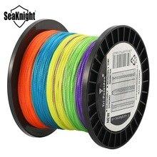 SeaKnight TP 300M 500M 1000M Fishing Line 8 10 20 30 40 60LB Multi-Color Braided Line Multifilament PE Fishing Line for Fishing