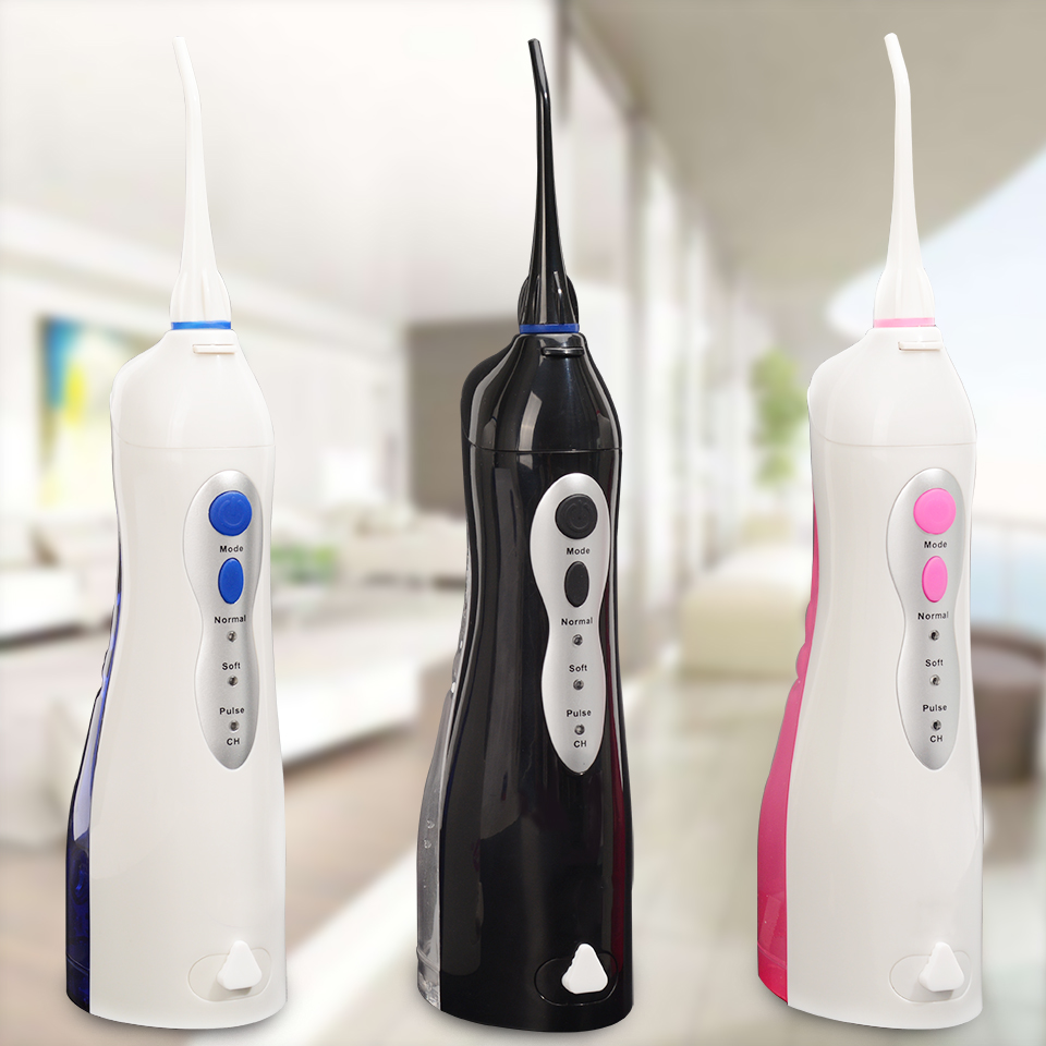 Professional Oral Irrigator Rechargeable Portable Dental Irrigator Teeth Clean Oral Dental Floss Water Jet Irrigator Exquisite
