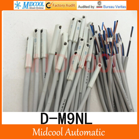 Free shipping magnet switch D-M9NL  high quality for Air Pneumatic Cylinder high quality mechanical hand accessories satr holding cylinder mcd 10 belt detection switch star tower pneumatic clamp