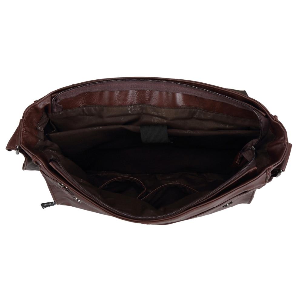 de lazer frete grátis Men's PU Leather Messenger Bags : Men's PU Leather Messenger Bags