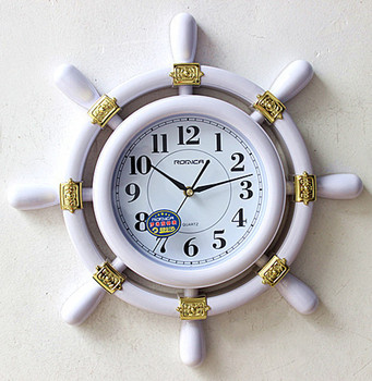 Home decoration sitting room clocks Contemporary and contracted bedroom mute clock Quartz clock wall world