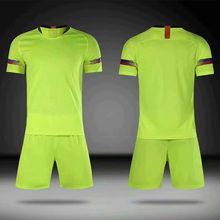 18-19 childrens football jersey set blank board custom training suits