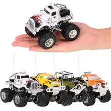 Retail RC Car Toy 4CH 40Mhz/27Mhz 1/43 High Speed Elektro Off-road RC Auto Children Gift(China)
