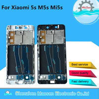 M Sen For Xiaomi 5 M5s Mi5s With Power Flex Cable Front Bezel Frame Middle Frame
