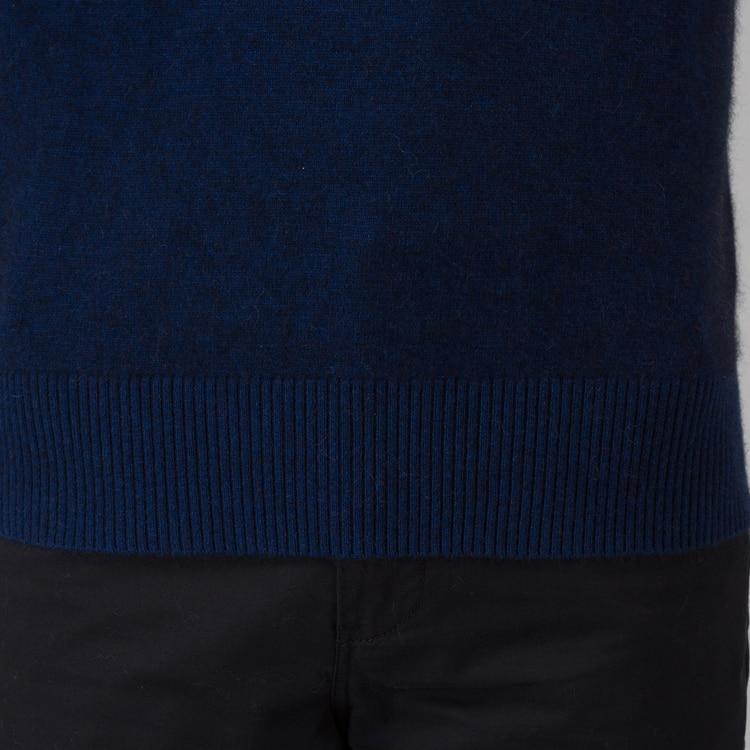 Image 5 - Зимний мужской свитер, 100% кашемировый и шерстяной вязаный  свитер с круглым вырезом и длинными рукавами, 2016 новые мужские  свитера, Одежда большого размераmens jumperswinter mens jumperswarm  pullover