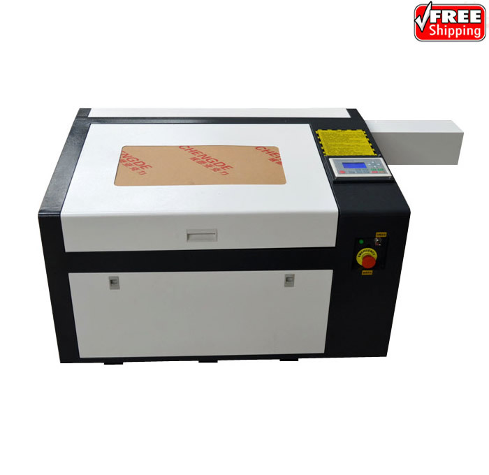 Newest LY 6040 PRO 60W laser engraver high speed version support off line control speed line pro