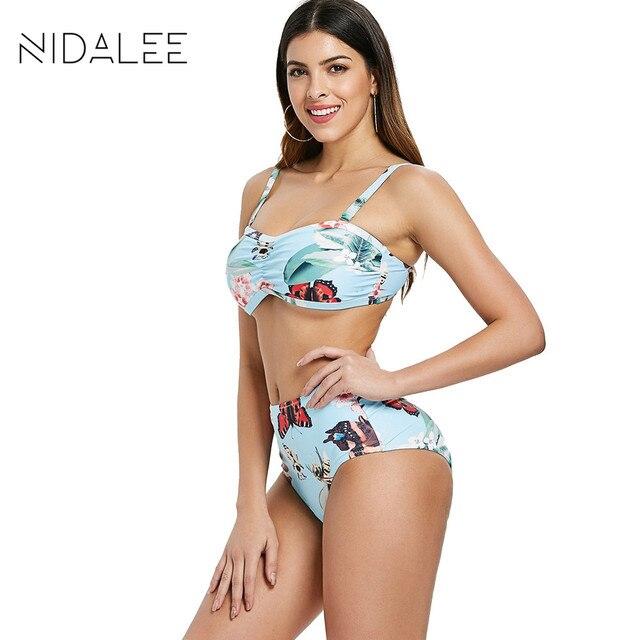 8bd39266200b € 9.72 40% de DESCUENTO|Nuevas mujeres trajes de baño Bikini taza grande  dividida traje de baño 2018 tubo superior Bikini conjunto más tamaño ...