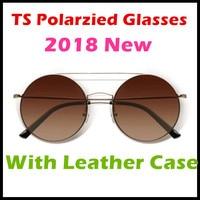 Xiaomi Turok Steinhardt TS Brand Nylon Polarized Stainless Sun Lenses Glasses Colorful RETRO 100% UV Proof for Travel Man Woman
