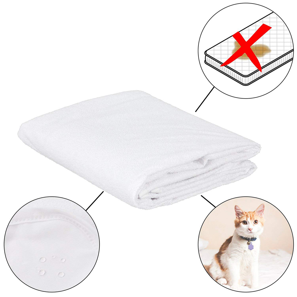 waterproof bed sheet anti mite cover (4)