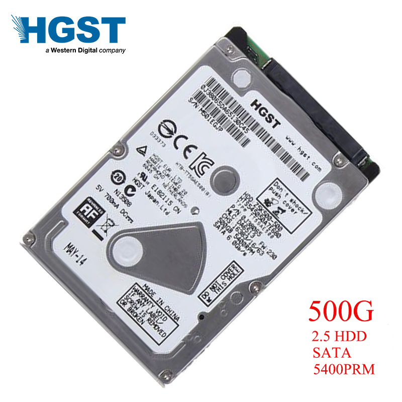 HGST Brand Laptop PC 2 5 500GB SATA HTS545050A7E680 Notebook hdd hard disk drive 2mb 8mb