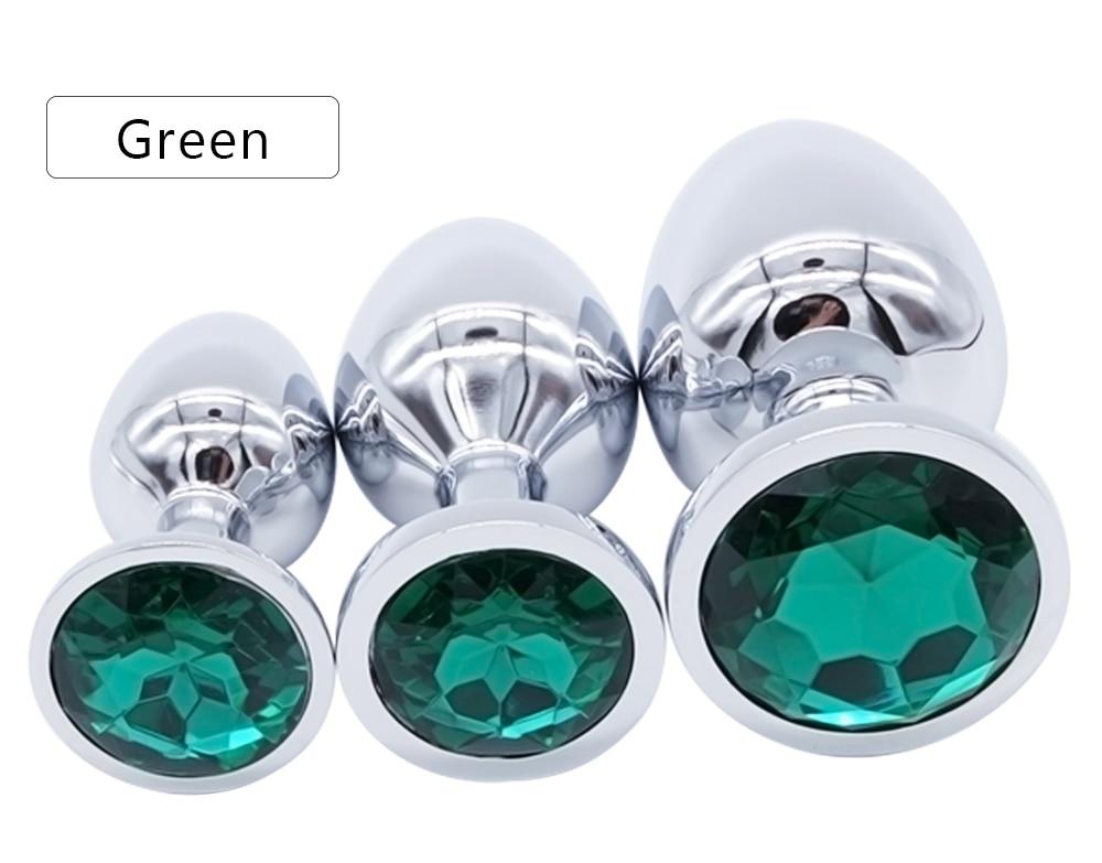 HTB17iJQRpXXXXaBXFXXq6xXFXXXo Bejeweled Stainless Steel Butt Plugs - 3 size Combo Set For Men and Women