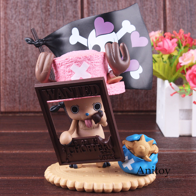 One Piece Figure Chopper One Piece Anime Tony Tony Chopper Premium Season Figure Valentine 2012 PVC Action Figure Model Toy image