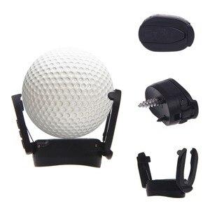Image 4 - 送料無料黒いプラスチックパターグラバーミニゴルフボールパターグリップレトリーバーミニゴルフボールピッカー