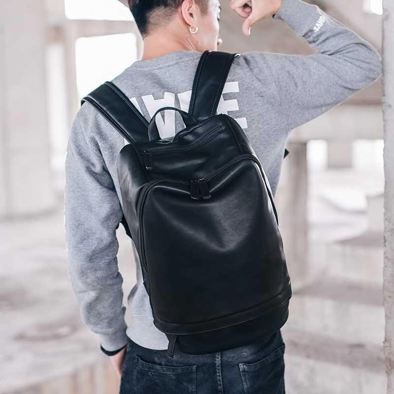 Tidog koreański mężczyźni street duża moda podróży plecak