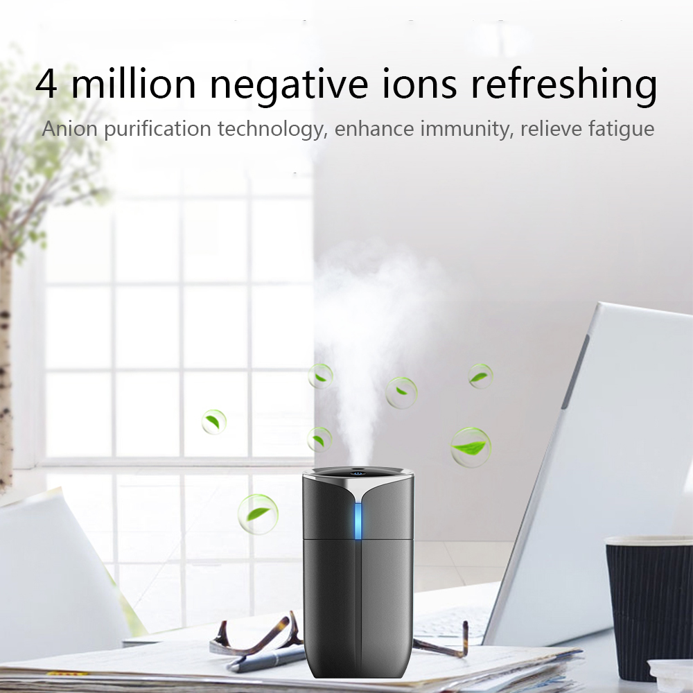 Image 3 - New Creative 230ML Portable Household Car Anion Humidifier Portable USB 4 in 1 Aromatherapy Humidifier Car Air Cleaning Device-in Car Air Humidifier from Automobiles & Motorcycles