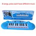 Elsa Crianças Teclado De Piano Eletrônico Brinquedo, Bebê Dos Desenhos Animados Mini Teclado Juguetes educativos Brinquedo Da Música Instrumento Musical