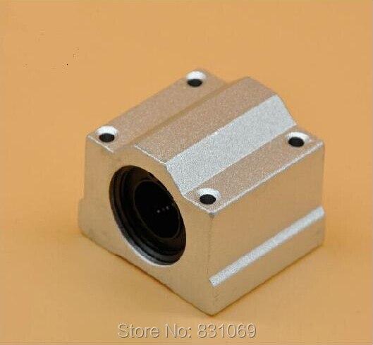 8pcs/Lot SC6UU SCS6UU 6mm Linear Ball Bearing Linear Motion Bearing Slide For CNC Brand New