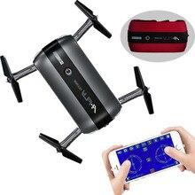 Mini 4CH 6 tengelyes összecsukható repülőgép modell távirányító Quadcopter WIFI FPV HD kamerával Drone 17008 3D tekercses játékkal