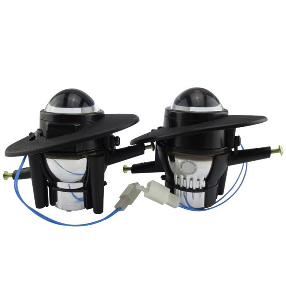 HID Bi-xenon Halogen Bifocal high low beam Projector Fog Light Lens Lamps holder for honda accord CRV CR-V fit CIVIC JAZZ hireno headlamp for mercedes benz w163 ml320 ml280 ml350 ml430 headlight assembly led drl angel lens double beam hid xenon 2pcs
