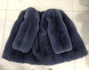 Image 5 - Donne reale della pelliccia del cappotto della signora del cappotto di pelliccia naturale inverno pelle pieno di volpe cappotto di pelliccia