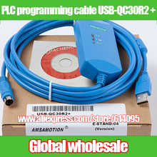 Электронные системы данных USB-QC30R2+ для Mitsubishi/с изоляции оптопара USB к RS232 адаптер для MELSEC Q PLC