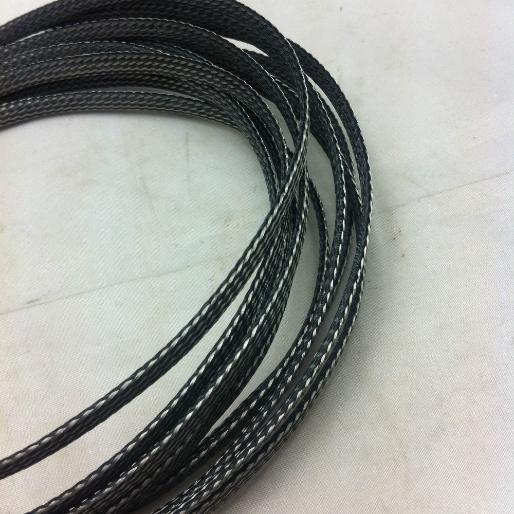 Wire Harness Sleeve Wiring Library Sleeving 8mm Black Silver Expanding Braided Cable Sheathing 100m328feet