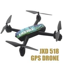 Jxd 518 Quadrocopter Fpv Gps Rc Drone Dengan Kamera Wifi Gps Drone Quadcopter Remote Control Mainan Untuk Anak-anak Rc Helikopter