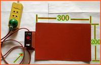 200 300mm 220V 300W 1 8MM Temperature Control FPB Split Screen Treasure Mobile Flexible Panel Heating